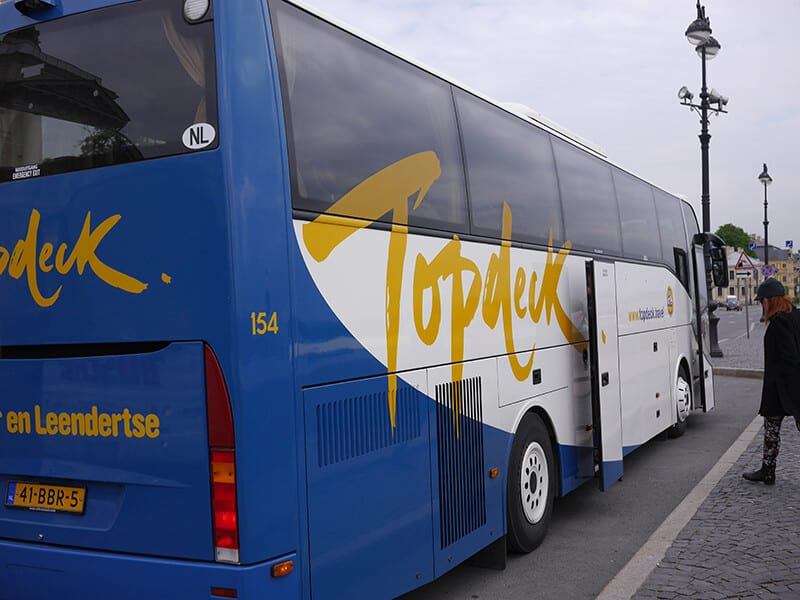 Top Deck Travel Bus Student Discount