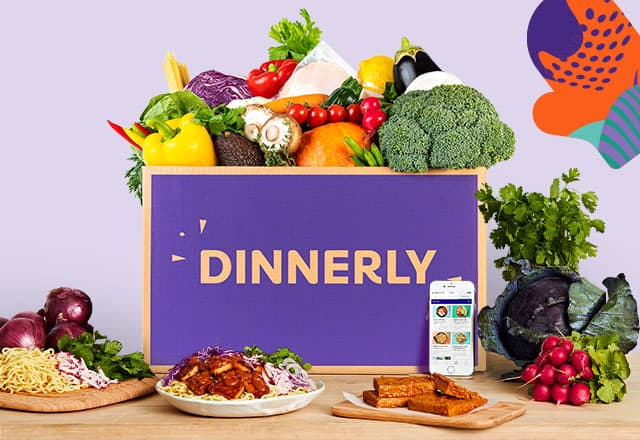 dinnerly student offer food menu