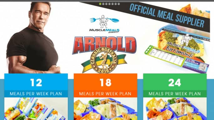 Arnold muscle meals deals