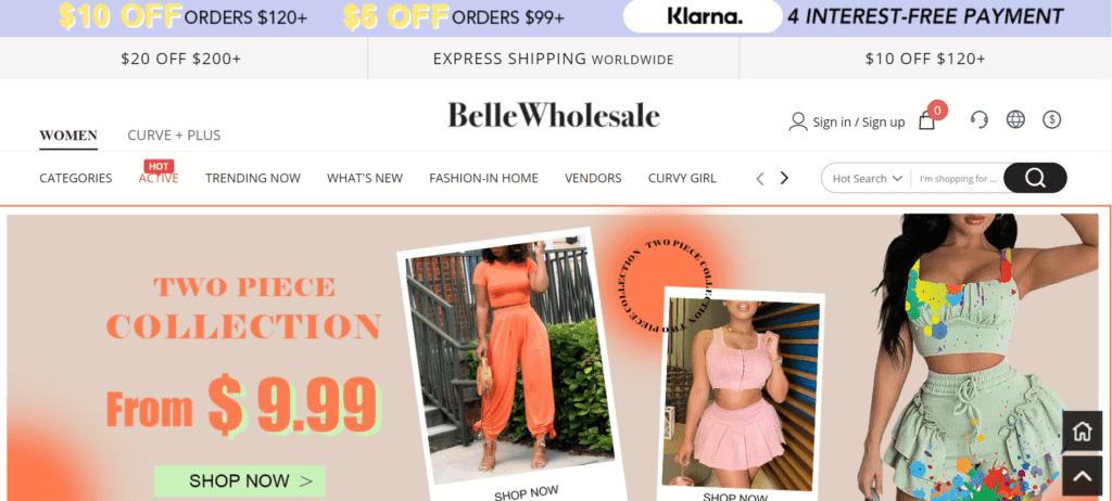 BelleWholesale Online Shop