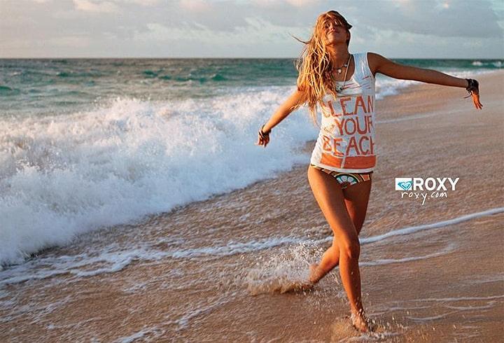 Roxy clothing beach wear