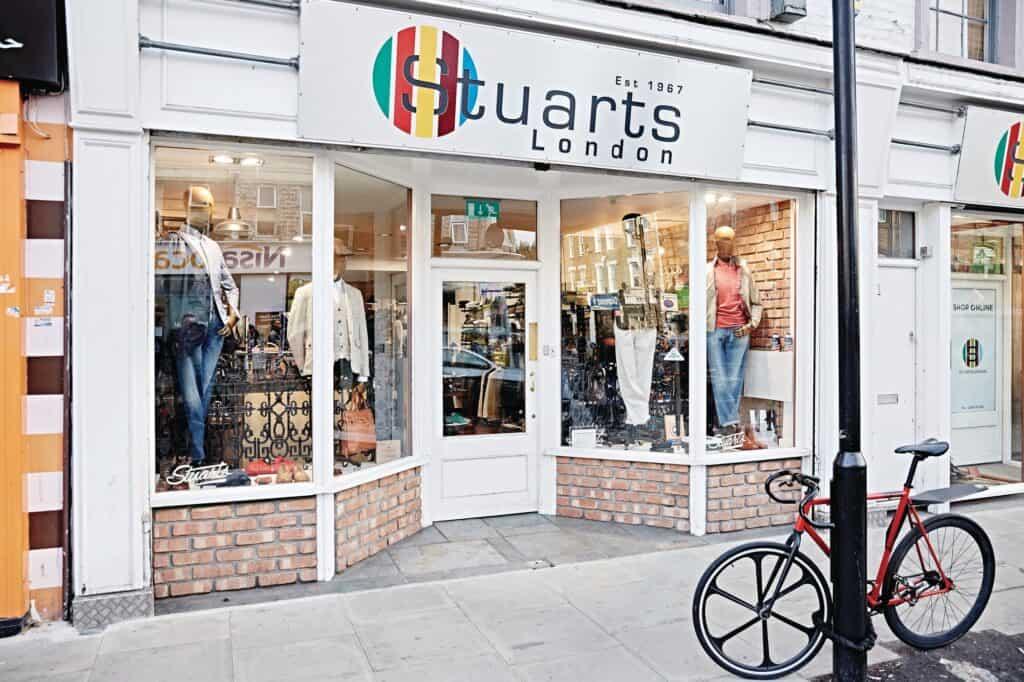 Stuarts london store front deals