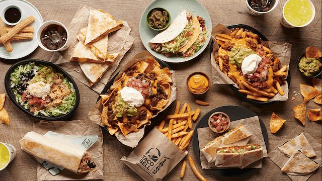 Taco-Bell menu