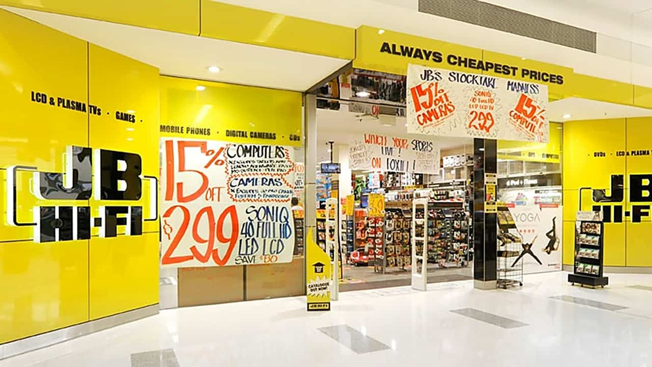 jb-hi-fi-store front